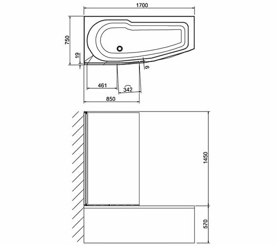 Technical drawing QS-V26333 / BS6