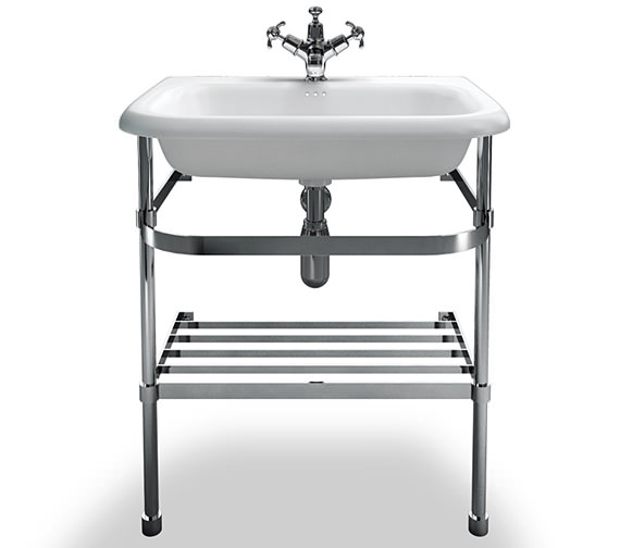 Additional image of Clearwater Traditional Small Roll Top Basin With Stand