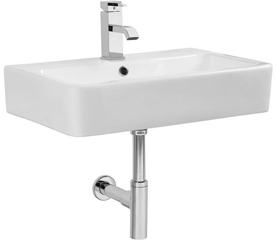 Tavistock Q60 White 575mm Ceramic Basin - SB900S