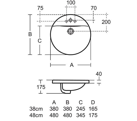 Technical drawing QS-V26631 / E500801