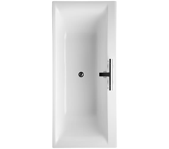 Ideal Standard Concept 1700 x 750mm 2 Tap Hole Double Ended Bath