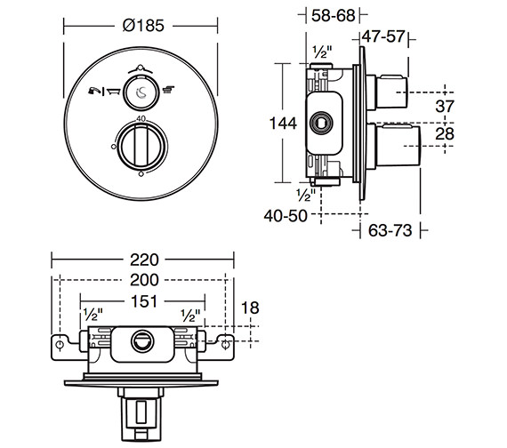 Technical drawing QS-V26655 / A5879AA