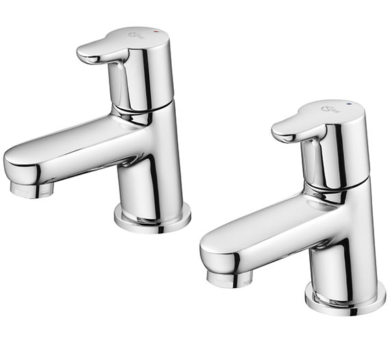 Ideal Standard Concept Pair Of Basin Pillar Taps