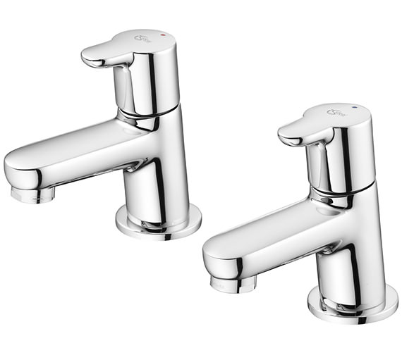 Ideal Standard Concept Pair Of Bath Pillar Taps