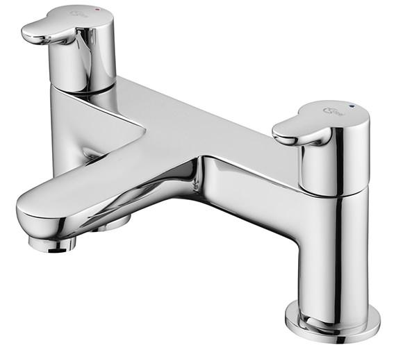 Ideal Standard Concept Dual Control 2 Hole Bath Filler Tap