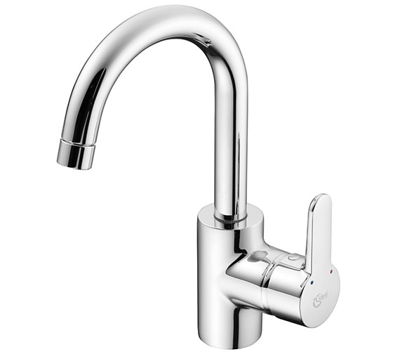 Ideal Standard Concept Tubular Spout Single Lever Basin Mixer Tap