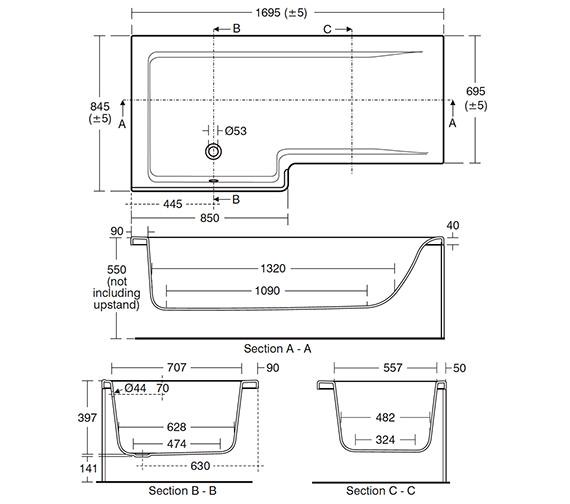 Technical drawing QS-V26673 / E049101