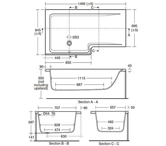 Technical drawing QS-V26677 / E049601