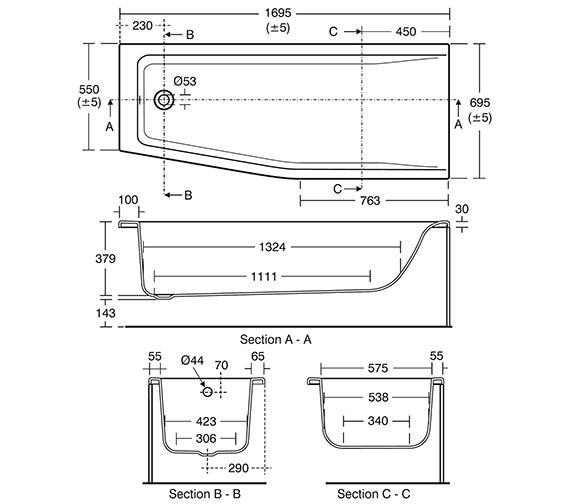 Technical drawing QS-V26680 / E049901