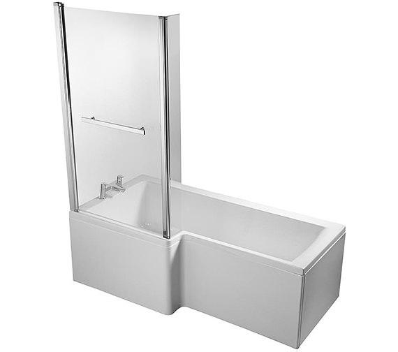 Additional image of Ideal Standard Concept Idealform 1700 x 850mm Left Hand Shower Bath