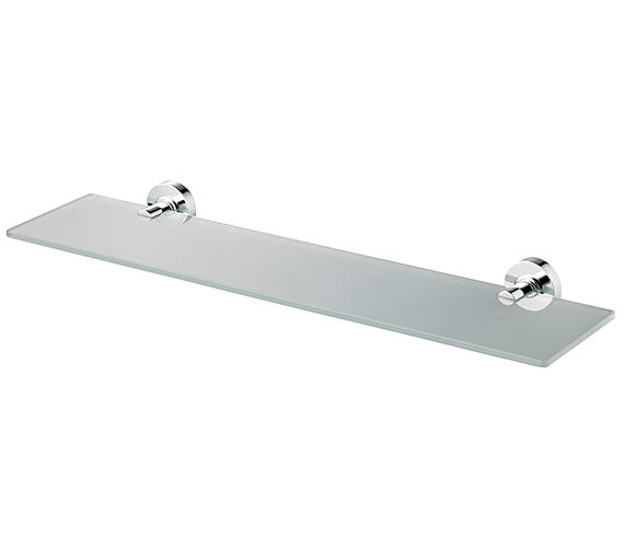 Ideal Standard IOM 520mm Frosted Glass Shelf - Clear Glass Optional