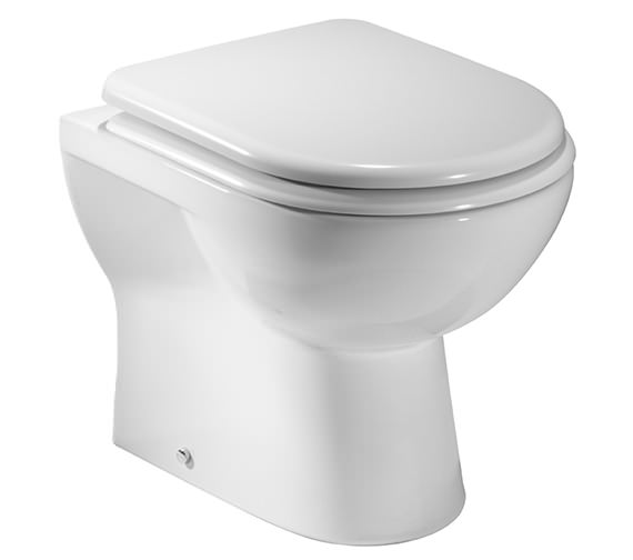 Tavistock Ion Back To Wall WC Pan With Soft-Close Seat