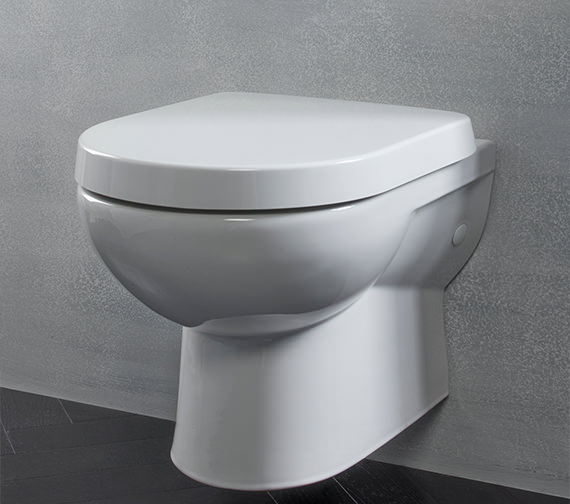 Tavistock Ion Wall Hung Wc Pan With Soft Close Toilet Seat