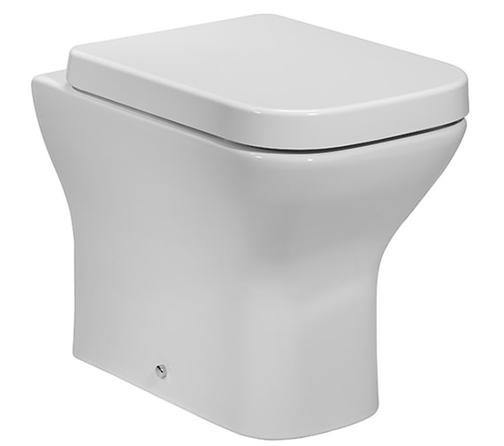 Tavistock Structure Back To Wall WC Pan With Soft Close Toilet Seat