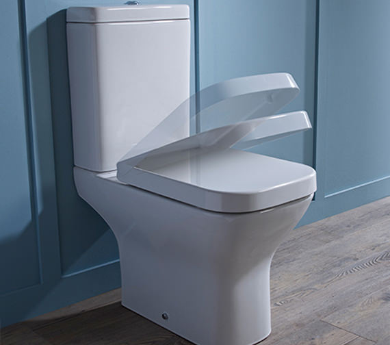 Tavistock Structure Close Coupled 640mm WC With Cistern And Toilet Seat