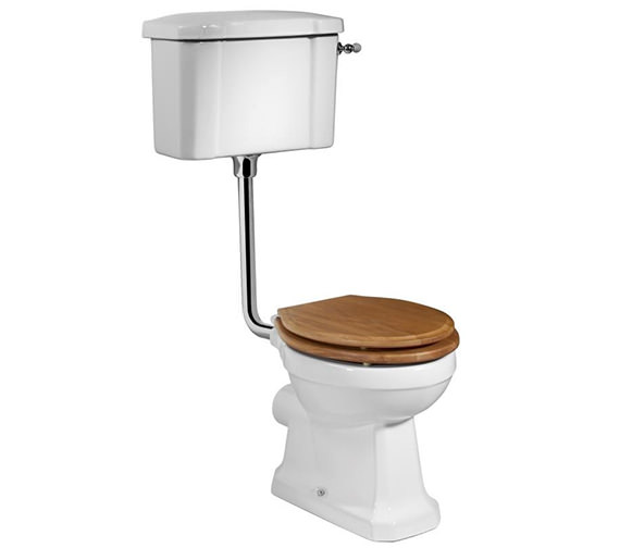 Tavistock Vitoria 438mm WC Pan With Low Level Cistern