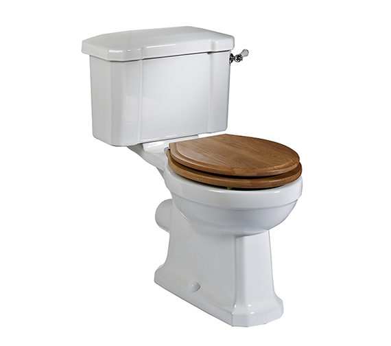 Tavistock Vitoria Close Coupled 673mm WC Pan With Cistern
