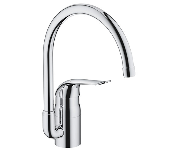 Grohe Euroeco Special Chrome Monobloc Sink Mixer Tap - 32786000