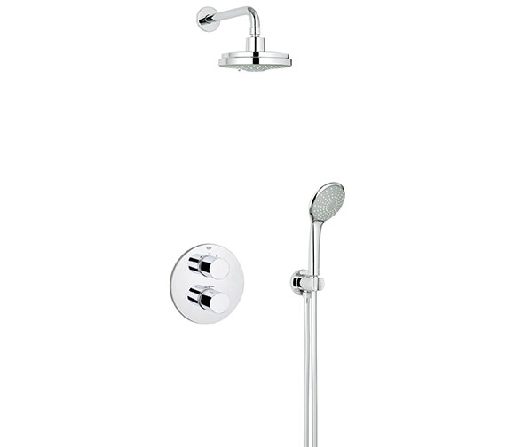 Grohe Grohtherm 3000 Cosmopolitan Perfect Shower Set - 34399000