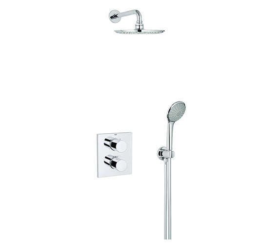 Grohe Grohtherm 3000 Cosmopolitan Perfect Shower Set - 34408000
