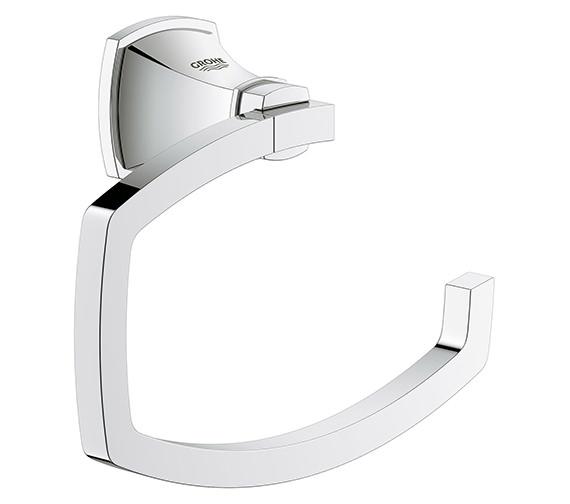 Grohe Spa Grandera Chrome Toilet Roll Holder - 40 625 000