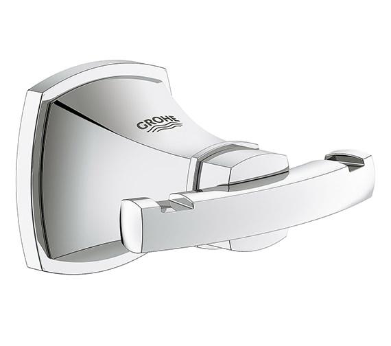 Grohe Spa Grandera Chrome Robe Hook - 40 631 000