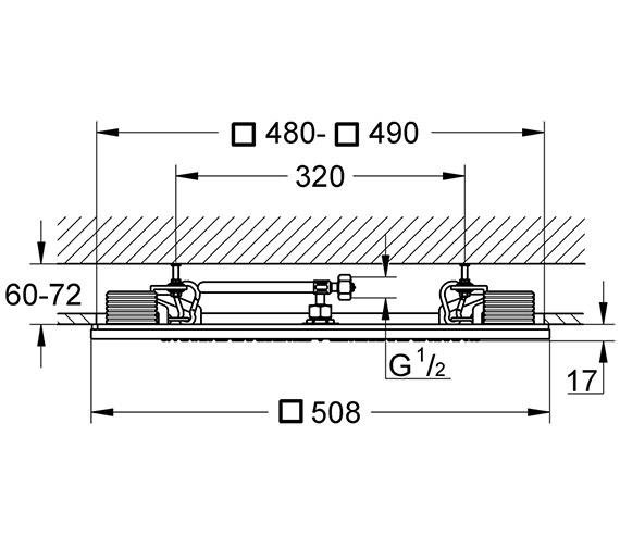 Technical drawing QS-V26885 / 27865000