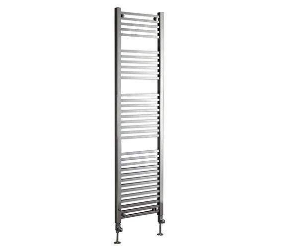 Phoenix Sophia Chrome Pre-Filled Electric Designer Towel Rail 500x800mm
