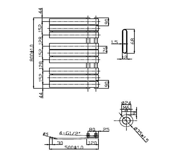 Technical drawing QS-V26921 / RA190