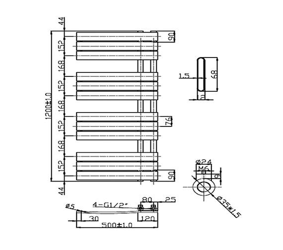Technical drawing QS-V26922 / RA191
