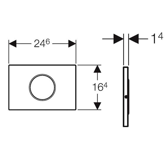 Technical drawing QS-V26947 / 115.909.SN.1