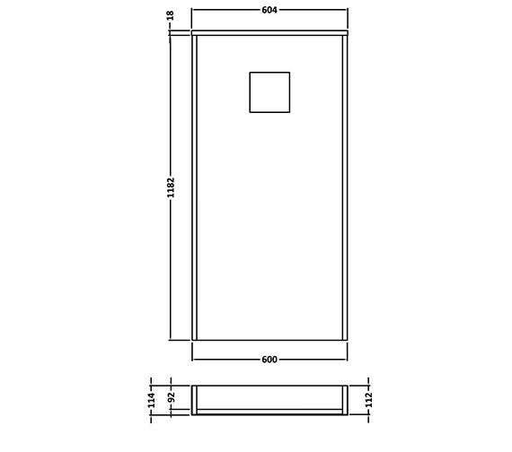 Technical drawing QS-V26983 / CAB246