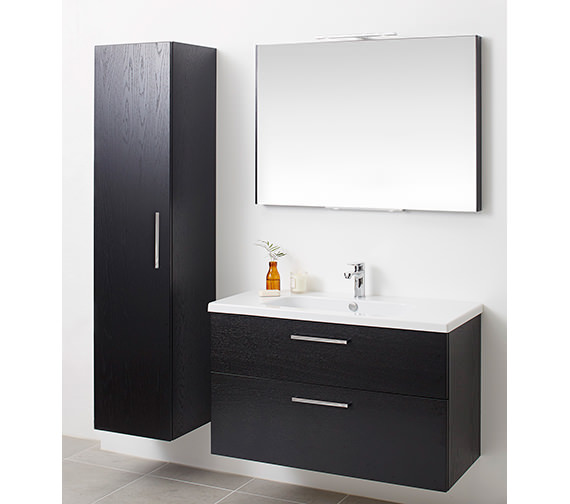 miller bathroom cabinet miller new york white 400 x 1690mm single door 13645