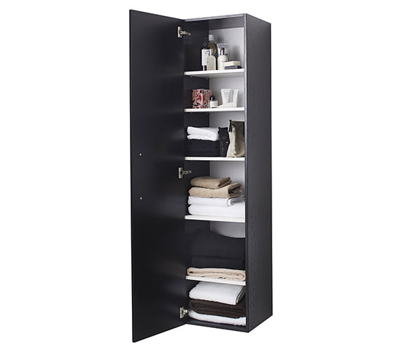 Additional image of Miller New York White 400 x 1690mm Single Door Tall Cabinet