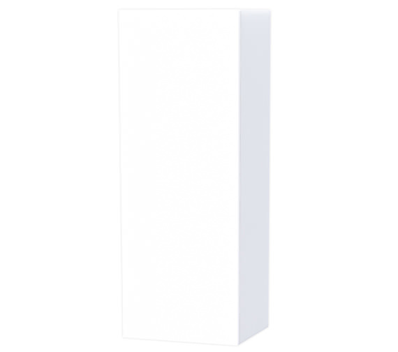 Miller New York White Cabinet With Single Storage Door 400 x 1111mm