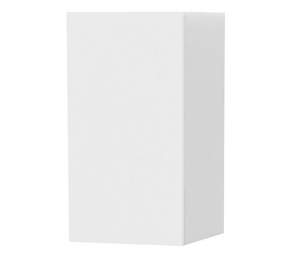 Miller New York White Single Door Storage Cabinet 275 x 590mm