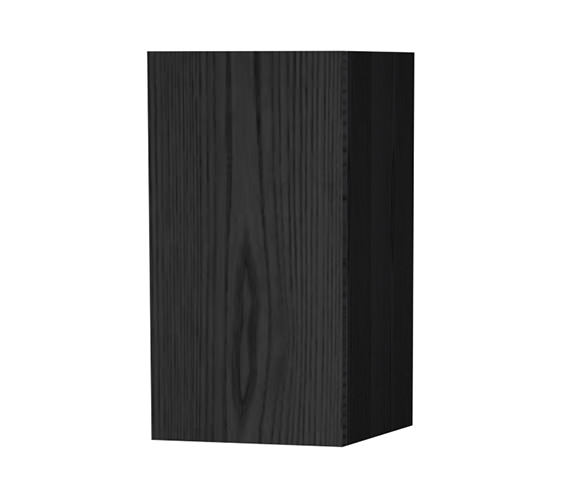 Miller New York Black Single Door Storage Cabinet 275 x 590mm