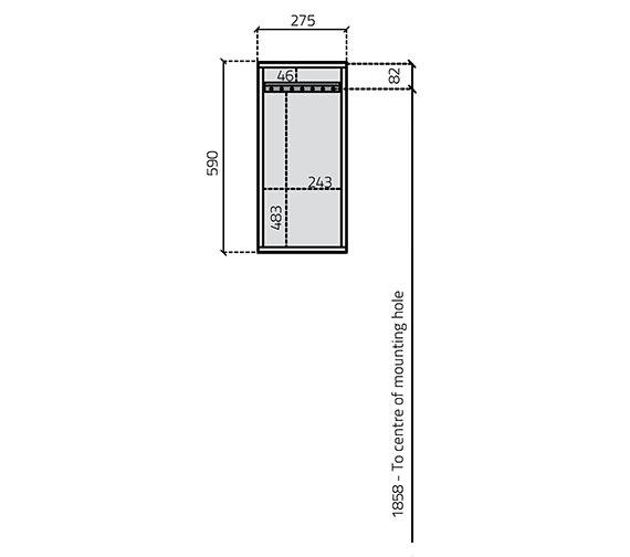 Technical drawing QS-V27035 / 234V-4
