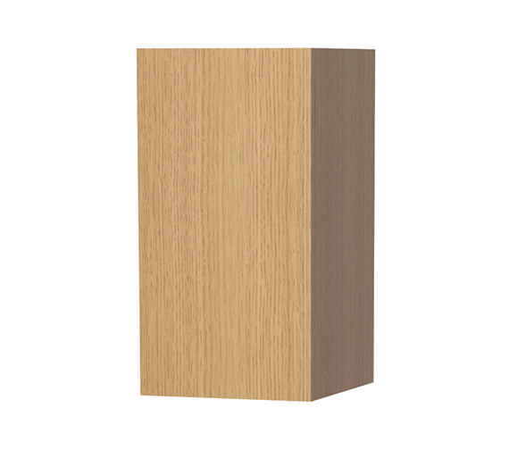 Miller New York Oak Single Door Storage Cabinet 275 x 590mm