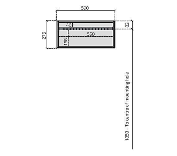 Technical drawing QS-V27037 / 1250-2