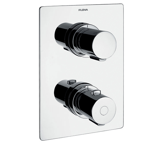 Alternate image of Flova Annecy Thermostatic Shower Valve With Diverter-Spout And Handset Kit