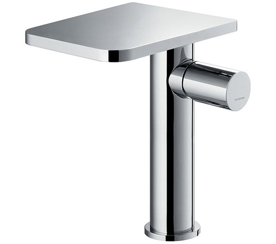 Flova Annecy Tall Basin Mixer Tap With Clicker Waste