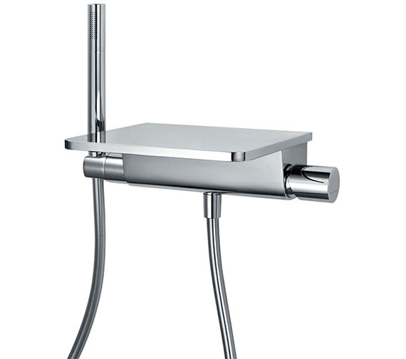 Flova Annecy Single Lever Wall Mounted Bath-Shower Mixer Tap With Kit