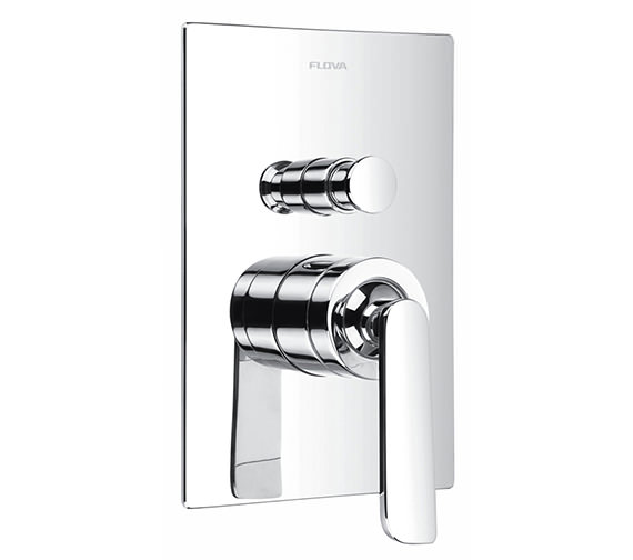 Flova Cascade Manual Concealed Shower Valve With 2 Way Diverter
