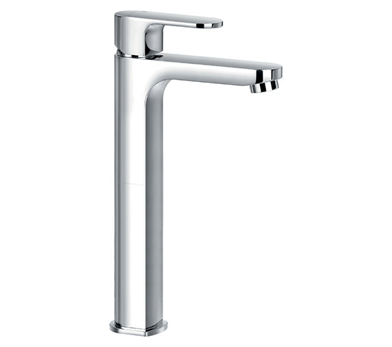 Alternate image of Flova Smart 147mm High Basin Mixer Tap With Clicker Waste