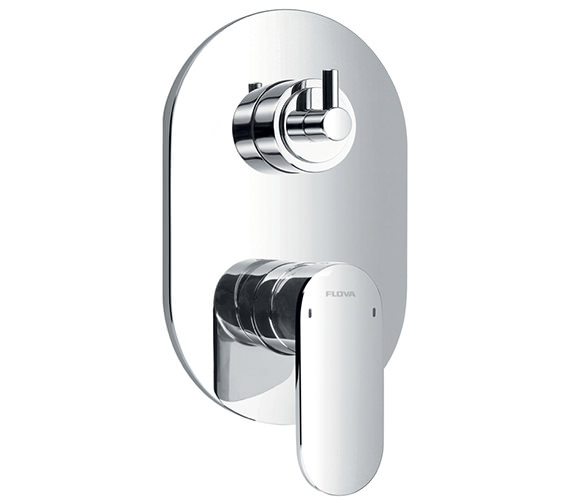 Alternate image of Flova Smart Manual Valve With Diverter - Spout And Overhead Shower