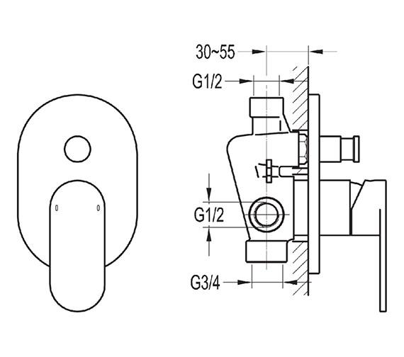 Technical drawing QS-V27119 / SMSHVO/DIV