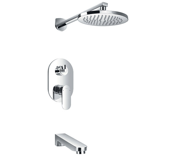 Flova Smart Manual Valve With Diverter - Spout And Overhead Shower