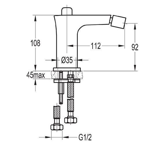 Technical drawing QS-V27123 / URBID