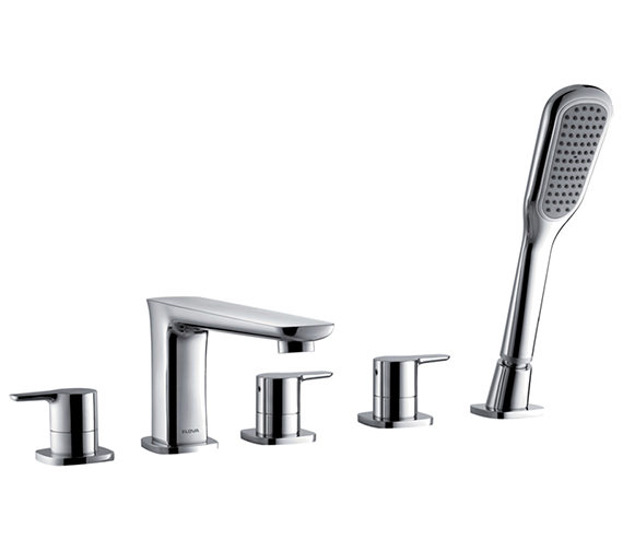 Flova Urban 5 Hole Bath-Shower Mixer Tap With Handset And Hose